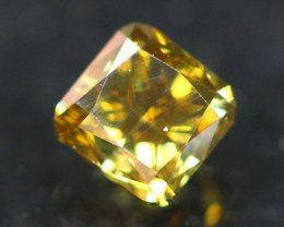 Whisky Diamond 0.42Ct Untreated Fancy Diamond Auction GC03