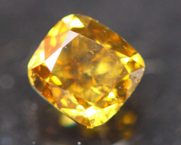 Yellow Diamond 0.38Ct Untreated Fancy Diamond Auction GC16