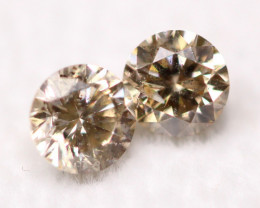 0.74Ct Yellowish Brown Natural Fancy Diamond Lot BM82