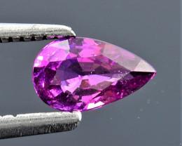 0.63 Ct Natural Grape Garnet Top Quality Gemstone. GG 17