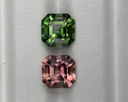 Afghanistan Perfect Matching Pair Tourmaline Top Color 6.45 Carats