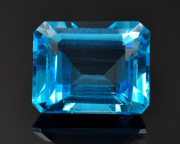 8.97 Ct Awesome Topaz Excellent Luster & Color Gemstone TP1