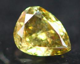 Diamond 0.11Ct Untreated Fancy Diamond Auction GC65