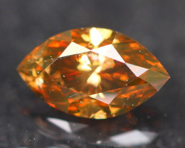 0.53Ct Diamond Reddish Fancy Natural Color B1808