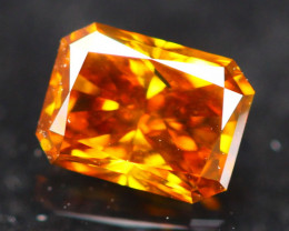 0.38Ct Diamond Whisky Fancy Natural Color B1811