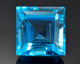 8.56 Ct Awesome Topaz Excellent Luster & Color Gemstone TP25