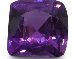 1.05ct Purple Sapphire Cushion