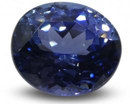 0.81ct Blue Sapphire Oval