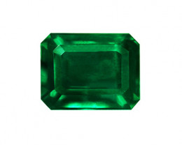 2.41 ct Natural Zambian Emerald Certified Magnificent Top Stone!