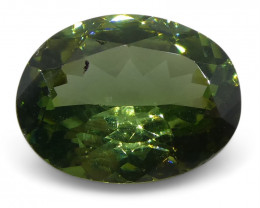 1.07ct Green Chrysoberyl Oval