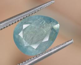 2.51 Crt Natural Rare Grandidierite Faceted Gemstone.( AG 81)
