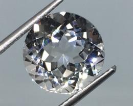 6.70 Carat VVS Topaz -Diamond White Color Flash Quality Amazing!