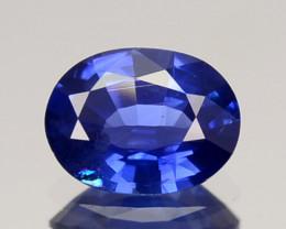 0.68 Cts Natural Corundum Nice Blue Sapphire Oval Cut SriLanka Gem (Video A
