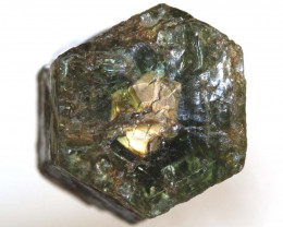 35.70 CTS  GOLD CENTRE AFRICAN  SAPPHIRE ROUGH CRYSTAL UNTREATED  RG-3947