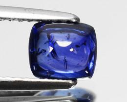 1.25 Cts Natural Blue Sapphire Sugarloaf SriLanka Gem Video Avl