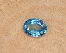 Natural Blue Zircon 1.51 Cts Top Luster Gemstone