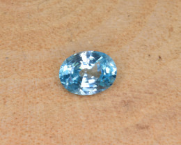 Natural Blue Zircon 1.64 Cts Top Luster Gemstone