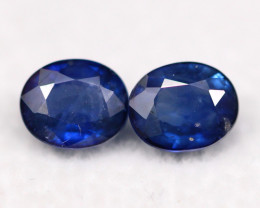 Sapphire 1.78Ct Natural  Royal Blue Color Sapphire A232