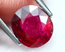 Rubellite 3.26Ct Natural Rubellite Red Color Tourmaline A238