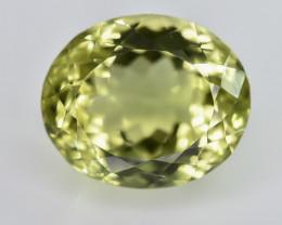 11.46 Crt Lemon Quartz Faceted Gemstone (R27)