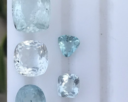 13.70 carats Natural blue color Aquamarine Gemstone from pakistan