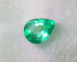 2.17 ct Gorgeous Top Of The Line Colombian Emerald Certified