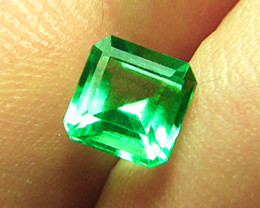 1.53 ct Magnificent High-End Zambian Emerald Certified