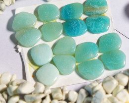 3155  CTS MASSIVE LOT OF CUT STONE , ROUGH , BEADS , INTARSIA NO 9