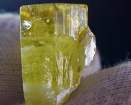 28.80 CT 100% Natural Yellow Beryl Heliodor Crystal