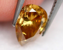 0.55Ct Diamond Fancy Natural Whisky Color B2002
