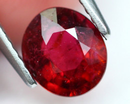 Rubellite 1.20Ct Natural Rubellite Red Color Tourmaline A281