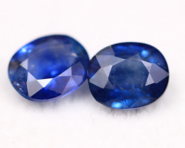 Sapphire 1.72Ct Natural  Rolyal Blue Color  A282