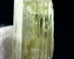 36.00 CT Natural - Unheated Yellow Green Kunzite Crysal