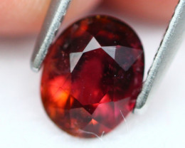 Rubellite 1.33Ct Natural  Rubellite Red Color Tourmaline A294