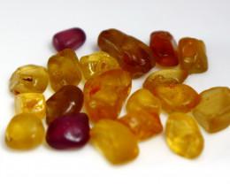 50 CT Natural - Unheated Mix Color Chrysoberyl Rough Lot