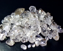 206 CT Natural - Unheated Herkimer Diamond Quartz Crystal Rough lot