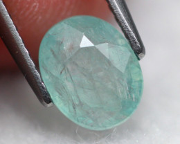 Grandidierite 0.98Ct Natural Rare Gemstones A306