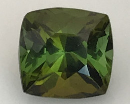 Cushion Cut Luminous 4.4ct Green Tourmaline AK1902