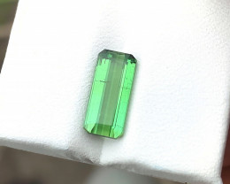 2.80 Ct Natural Green Top Color Transparent Tourmaline Gemstone