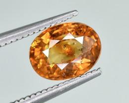 1.77 Crt Natural Spessartite Garnet Faceted Gemstone.( AG 82)
