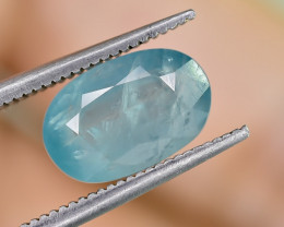 2.86 Crt Natural Rare Grandidierite Faceted Gemstone.( AG 82)