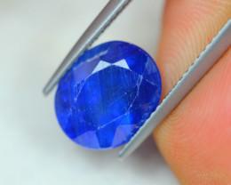 5.23Ct Blue Sapphire Oval Cut Lot LZB514