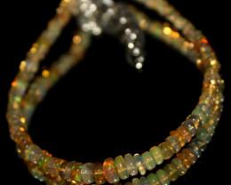 11 Crts Natural Ethiopian Welo Opal Beads Bracelet 609