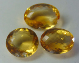 46.25CTS FLAWLESS SPARKLING NATURAL  CITRINE