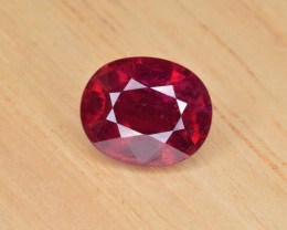 Natural Ruby 5.64 Cts Pigeon Blood Color