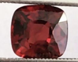 Pretty Cushion Cut 1.75ct Red Spinel - Burma  Ref 2208