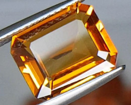 "3.87cts ""Sunkist"" Orange Citrine"