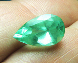 5.22 ct Natural Colombian Emerald Certified Amazing Large Stone!