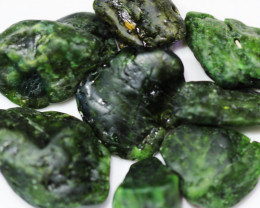 645 CTS CHROME DIOPSIDE FROM RUSSIA STABILIZED [F8017 ]