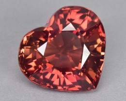 15.08 Cts Attractive Beautiful Heart Shape Natural Tourmaline